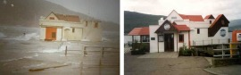 The Crannog Pier and Restaurant in Fort William. The new forecasting system will predict surge propogation up Loch Linnhe to the communities of Corpach and Caol.