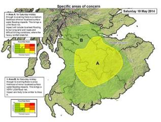 Area of Concern map on FGS