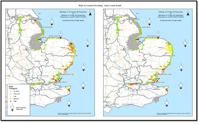 Pilot capability for a risk-based coastal decision support tool. (source: Environment Agency)