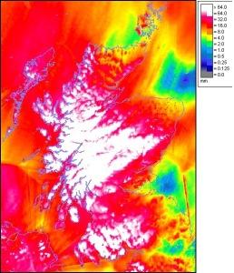 Storm Frank rainfall radar (2)